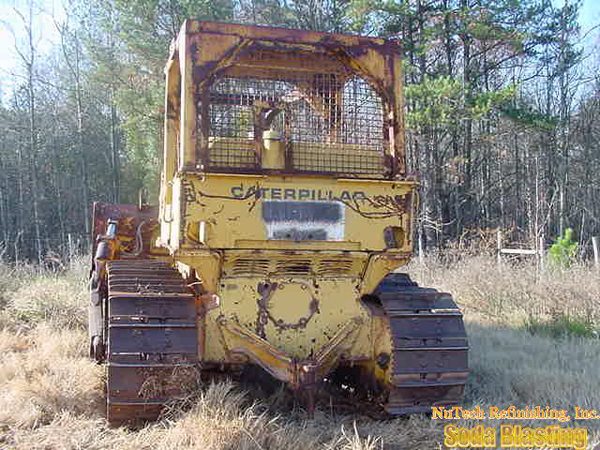 heavy equipment refinishing