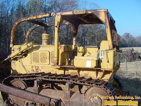 heavy equipment restoration