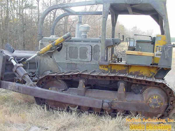 heavy equipment body stripping