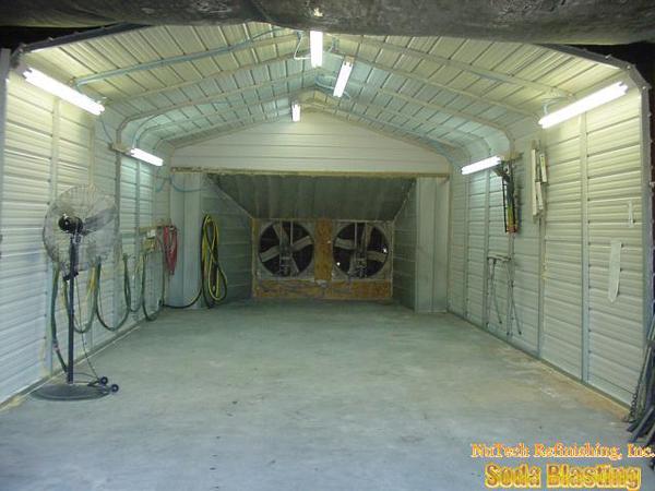 Paint Booth Rental >> NuTech Refinishing Inc Jefferson GA sodablasting non-toxic ...