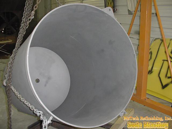 industrial applications fiberglass mixing vat