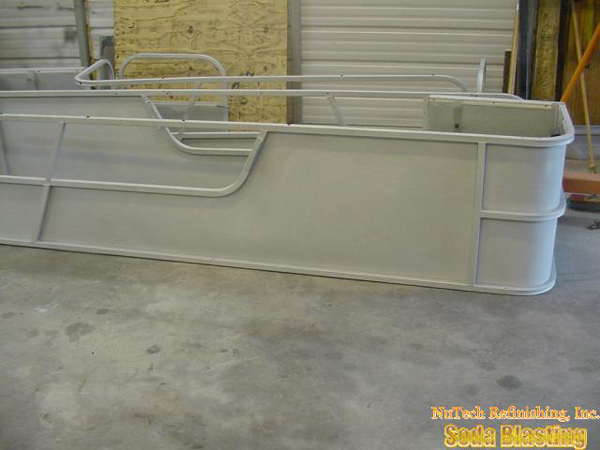 marine industry aluminum pontoon boats