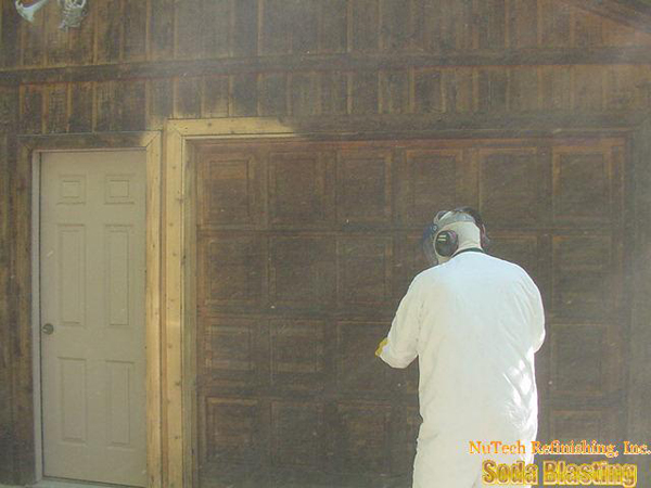 Exterior Wall Cleaning Removes Mold Mildew And Stains Nutech Refinishing Inc Jefferson Ga