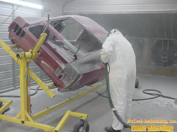 paint removal 69 Mach