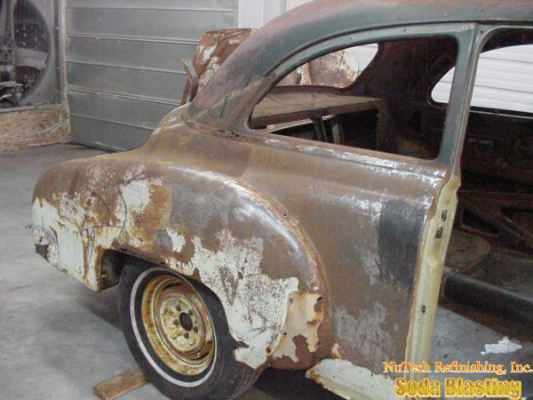 automotive rust  stripping