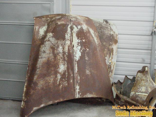 rust removal stripping for classic car