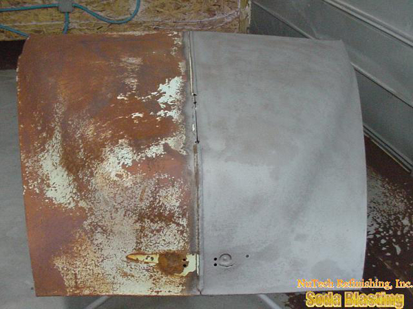 auto rust removal stripping