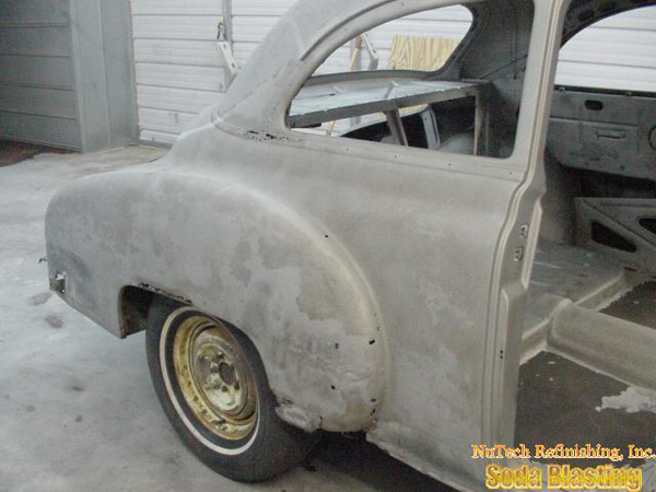 classic auto rust  stripping