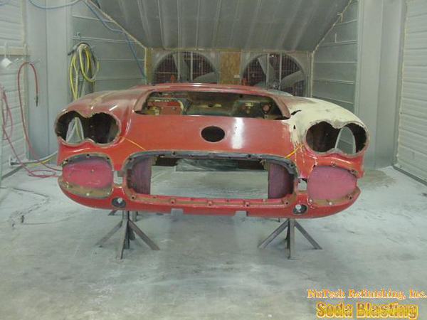 stripping a 58 Corvette
