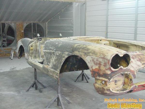 refinishing 58 Corvette