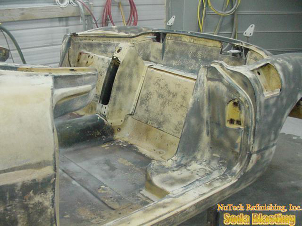 58 Corvette refinishing